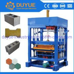 Geen het Maken van de Baksteen van het Blok/van de Betonmolen van het Hydraulische Cement van de Technologie Qt4-30 van Duitsland van de Elektriciteit van de Behoefte Concrete Machine