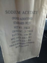 무수 시약 급료 나트륨 아세테이트