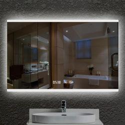 Современная ванная комната светодиодный фонарь наружного зеркала заднего вида с увеличительным Bluetooth