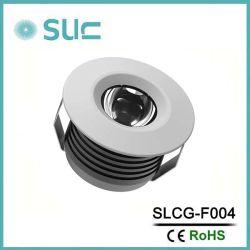 3W декоративные светильники акцентного освещения в соответствии с светодиодный индикатор кабинета для кухни (SLCG-F004)