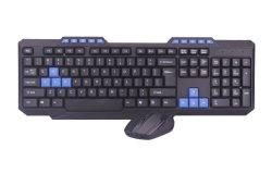 Preiswerte drahtlose Tastatur des Spiel-2.4G für Computer-Laptop