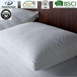 RDS 호텔 또는 가정 삼각천 90% 거위 또는 오리는 아래로 장방형 3 Chamble 베개를 깃털을 단다