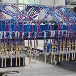 Chinesische Lieferanten-bewegliche Metall-CNC-Plasma-Flamme-Ausschnitt-Maschine