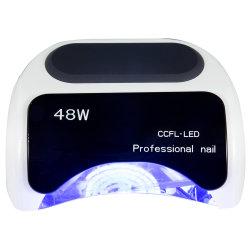 네일 폴리시 드라이어 전기 자동 유도 CCFL UV LED 네일 램프
