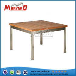 Для использования вне помещений из алюминия мебель из тикового дерева обеденный ресторан установить исходную таблицу