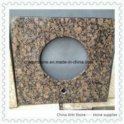 Китайский гранит мрамор камень в верхней части зеркала в противосолнечном козырьке (коричневый) для ванной комнаты