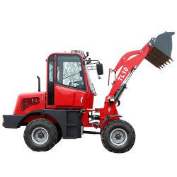 1.0 ton Front End cargadora de ruedas hidráulicas articuladas de maquinaria de jardín