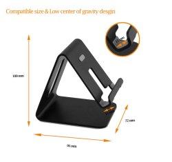 iPhone 8 Handy-Standplatz-Halter für Schreibtisch-Telefon-Standplatz