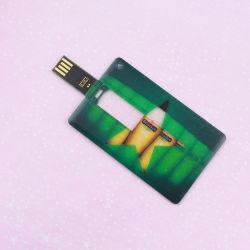 Mayorista de Impresión de alta definición de la fábrica OEM Logo de la tarjeta de crédito de la memoria USB Flash Drive 2GB 4GB 8GB 16GB 32 GB de regalo de empresa personalizado