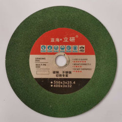 355 grünes Harz-Ausschnitt-Stück importiertes Qualitäts-Material-Silikon-Karbid