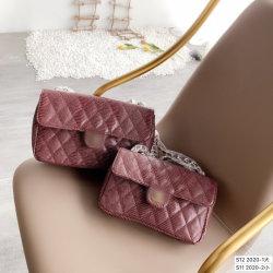 Gran Bolso De Color Sólido, Patrón de diamante de la moda de la cadena de incienso gran hombro la Bolsa Bolsa de la mujer Span