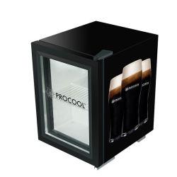 Portello di vetro marcante a caldo mini frigorifero per la promozione della bevanda