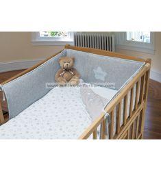 卸し売り綿 100% のまぐさ桶シート赤ん坊の寝具セット