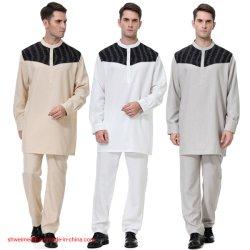 人のカフタンのJalabiyaイスラム教のAbaya中東のアラビアのズボンの服