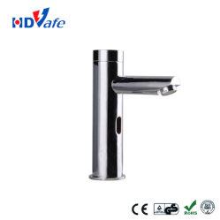 柱デザインコックを離れた統合された口の洗面器自動赤外線センサーTapshut