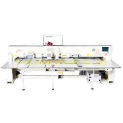 Multi Farben-Stickerei und lochende Maschinen-Textilgerät