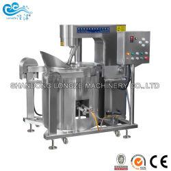 Automatique de chauffage au gaz à saveur de chocolat au caramel pop-corn Making Machine pour la Chine sur le prix de vente à chaud