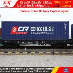 Cargaison FOB Shenzhen au Royaume-Uni de la Chine de chemin de fer de la mer de l'Air Freight Transport Express