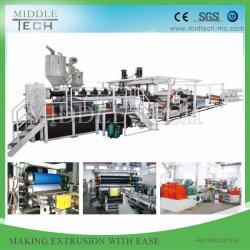 プラスチックPE/PP/PVC/ABS/HIPS/Petシート及びBoard&の版の押出機の機械か機械装置