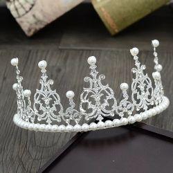 Nouvelle arrivée d'accessoires de la Couronne mariée bijoux d'ornements de cheveux