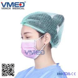 保護使い捨て可能なピンクの看護婦のマスクPPEのマスク及び安全