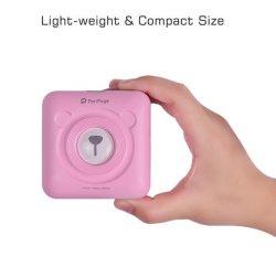 小型無線Bluetoothの熱写真プリンター