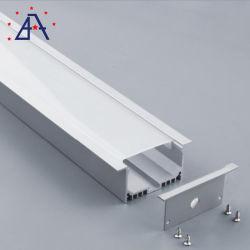 سعر جيد من الألومنيوم المطروق للحديد الضوء شريط LED
