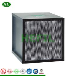 HEPA-Filter mit Filterbox, Typ Box, mit Krankenhaus-Luft- und Raumreinigungsraum
