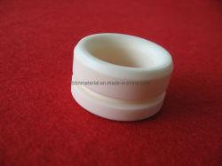 Los casquillos de cerámica Aislante cerámico del cilindro Al2O3 de óxido de aluminio