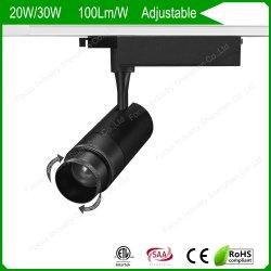 20With30W indicatore luminoso libero della pista del punto del riflettore della luce intermittente registrabile LED con 2/3/4 dei collegare