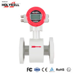 Непрерывное измерение расхода твердого материала электромагнитные расходомер