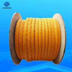 Высокое качество 12 ветви UHMWPE полиэстер, офшорных веревки/Нейлон /PP / Полиэстер морской швартовный трос