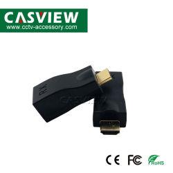 Extensor HDMI por Cat-5e/6 Cabos usar apenas um dos cabos Cat-5e/6 cabos para estender o HDTV exibir até 30 metros para 4K*2K e 1080P na cor preta