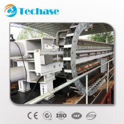 Nouvelle génération Série KS Techase filtre presse avec moins de 60 % d'humidité des gâteaux de boues de sortie