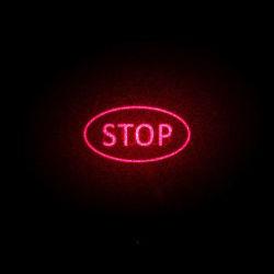Лазерный указатель загорается красная сигнальная лампа Stop Locator лазерный модуль 660нм 100 Мвт