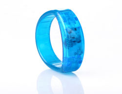 Fehlerfreie sprachaktivierte LED leuchten Armband Belüftung-blinkendem Armband