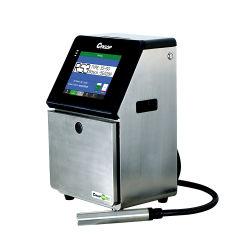 Las líneas de cable automática Industrial de la impresora de inyección de tinta continua de la codificación de la máquina de impresión de códigos de barras