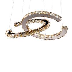 LED de iluminação decorativa lustre de cristal com K9 para decoração de interiores