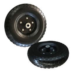 Strong 6 polegada/ 8 polegadas de molde PU vermelho na Roda de Aço Pesado de andaimes as Rodas do Rodízio