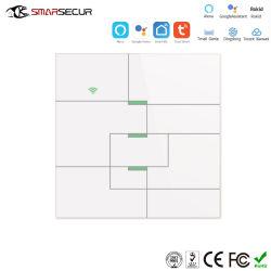 Ausgangs-/Büro-Verbrauch-intelligenter Schalter, Android/IOS APP-Steuerwand-Beleuchtung-Schalter mit Noten-Tastaturblock
