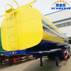 Новый тип 3-мосты молока из нержавеющей стали бак топлива Semi-Trailer танкеров для продажи