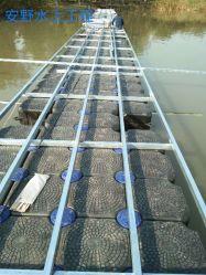 Простая установка модульного морской пластика с плавающей запятой понтонный мост продажи