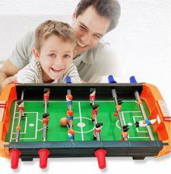 Jeu de sports d'intérieur poignée en plastique de football de table de soccer de jouets Jouets main Jeu de table