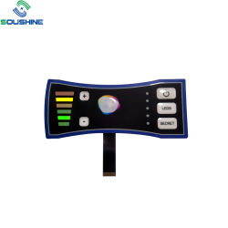 Tastiera su ordinazione della membrana dei prodotti della fabbrica della Cina