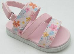 2020 La mode bébé fille chaussures occasionnel Imprimer Floral Prewalker à semelle souple en cuir chaussures sandales Bébé d'été