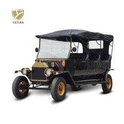 الجملة 8 مقاعد مركبة كلاسيكية جولة المدينة الكهربائية لمشاهدة المعالم سيارة تحمل شهادة CE