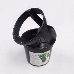 감자 꽃 검정 농업 온실 실내 옥외 정원 플라스틱 남비를 위한 Bato 둥근 물통