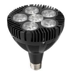 مروحة عالية القدرة تعمل بالكمبيوتر بقدرة 50 واط تعمل بتقنية الإضاءة PAR38 LED لموضع جنزير مصابيح الإضاءة E27 PAR38 LED