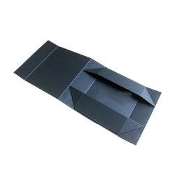 علبة قمصان ذات لوحة بطاقاتٍ سوداء فاخرة مخصصة تحمل شعارك والتصميم