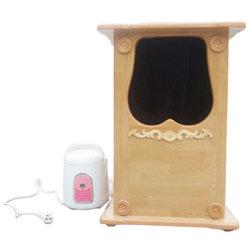 Riscaldatori del rosene della vasca di Droga-Vapore-Fumigazione di KeAcrylic (sauna del piede del vapore) (KSP-229DT)